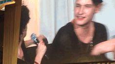 / / Matty Healy smiles adorably / /