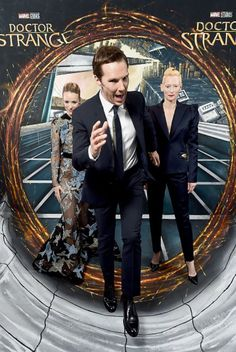 Benedict at The UK Dr Strange Premiere - 24th October 2016