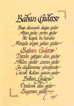Canım babam❤🌷 Calligraphy Handwriting, Caligraphy, Arabic Calligraphy, Typography, Lettering, Cool Words, Allah, Quotations, Pictures