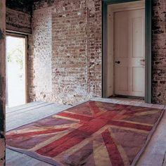 Union Jack rug