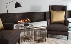 Chelsea Interior Design | Laura Hammett featuring a small 'Carve' box by AURA-ID.COM