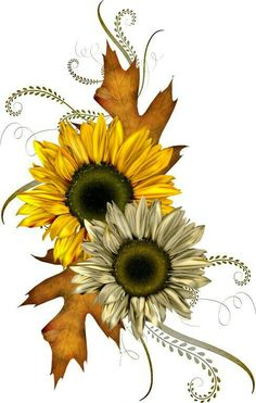 Free fall images about autumn clip art and images on - Clipartix Autumn Painting, Tole Painting, Fall Clip Art Free, Herbst Tattoo, Graffiti Kunst, Autumn Tattoo, Fall Leaves Tattoo, Sunflower Art, Sunflowers