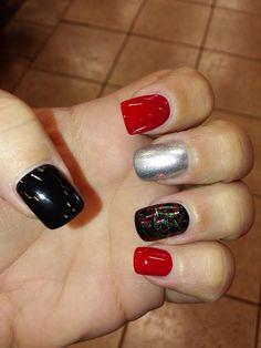 Holiday nail art. OPI