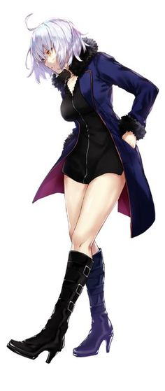 Jeanne d' Arc Berserker Alter Manga Girl, Art Manga, Manga Anime, Fantasy Characters, Female Characters, Anime Characters, Fan Art Anime, Anime Art Girl, Anime Girls