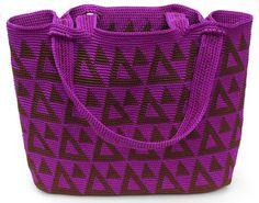 Ravelry: Geometry Tote pattern by Carol Ventura