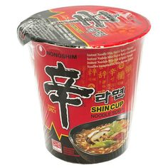 Japan Centre - Nong Shim Gourmet Spicy Shin Ramen, Small - Ramen... (€1,10) ❤ liked on Polyvore featuring fillers and food