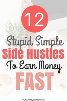 13 Ridiculously Easy Side Hustle Ideas To Earn Extra Money Quickly – Bankgeschäfte Earn Money Fast, Make Real Money, Need Money, Earn Money From Home, Earn Money Online, Make Money Blogging, Cash Money, Online Jobs, Tips Online