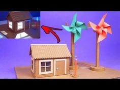 Amazing model of Mini-Wind Generator made with Pinwheel and DC Motor Science Projects, School Projects, Projects For Kids, Crafts For Kids, Science Fair, Science And Nature, Energy Projects, Stem Activities, Diy Toys