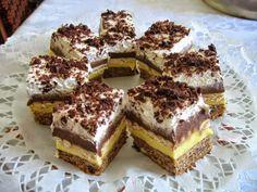 Keksztorta 5 hozzávalóból – amilyen hamar összedobható, olyan hamar el is fogy! Hungarian Desserts, Hungarian Cake, Hungarian Recipes, My Recipes, Cookie Recipes, Dessert Recipes, Tasty, Yummy Food, Cake Bars