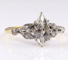 Antique Victorian French Ring