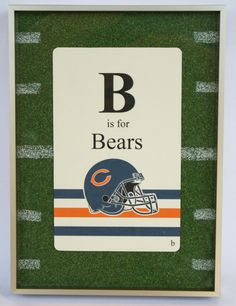 Chicago Bears Flashcard by Foursided