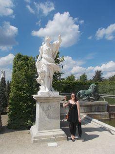 Gardens of the Palace of Versailles, Paris.