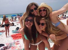 Beachy days with friends