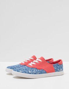 c4267f5be19 Bershka Indonesia - BSK combined sneakers Ahs