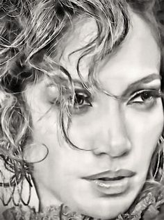Jennifer Lopez Digital Art