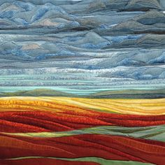 The Best 20 Ideas for Landscape Quilting Fabric Uk Quilting Fabric Uk, Applique Quilts, Fabric Art, Art Quilting, Quilting Ideas, Machine Quilting, Fiber Art Quilts, Textile Fiber Art, Textile Artists