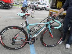 Mattia Gavazzi's Bianchi Sempre Pro, Giro di Toscana - 2013