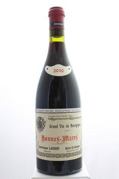 Dominique Laurent Bonnes-Mares Grande Cuvée Vieilles Vignes 2010. France, Burgundy, Chambolle Musigny, Grand Cru. 5 Bottles á 0,75l. Price realized (9/2016): 780 USD (156 USD/Bottle).