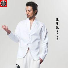Zen. Chinese Han Style Zen Clothes Shirt