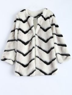 SHARE & Get it FREE | Zig Zag Faux Fur CoatFor Fashion Lovers only:80,000+ Items • New Arrivals Daily Join Zaful: Get YOUR $50 NOW!
