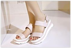 Pangmama - Ankle-Strap Sandals