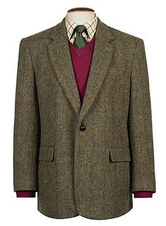 Tweed - enough to last you a lifetime. And not as expensive as you might think. The real deal.