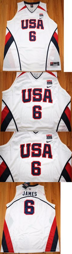 Basketball-Other 205: Lebron James #6 Nike Authentic Usa National Basketball  Team Jersey
