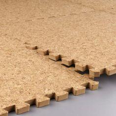 Coarse cork anti-fatigue ground EVA mats   Healthier alternative to plastic foam tiles for kids.   Nantong Meitoku Plastic Company Limited
