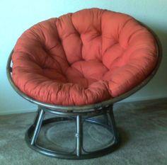 Papasan chairs