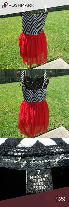 City Triangles Dress Super cute! Size 7 City Triangles Dresses