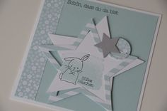 is one of my new stamp sets and what shall I say: I LOVE IT ! Stampin Up Karten, Karten Diy, Stampin Up Cards, Baby Scrapbook, Scrapbook Cards, Cuadros Diy, Tarjetas Pop Up, Dou Dou, Make Your Own Card