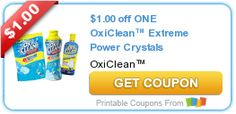 $1.00 off ONE OxiClean™ Extreme Power Crystals