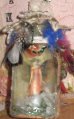 fairy in a bottle by Diane Stringer sold