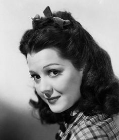 ann rutherford Vintage Style Classic Hollywood Stars
