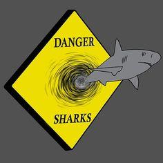Danger, sharks