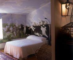 Cow Room at Villa Ca Toga Calistoga Tini Hálószobák 0b3794bf09
