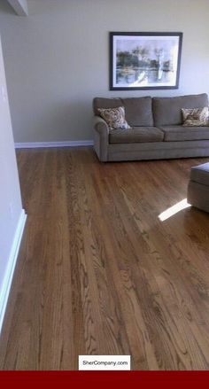 Diy Wood Floors Refinishing Red Oak 55 New Ideas Red Oak Floors, Diy Wood Floors, Painted Wood Floors, Maple Floors, Oak Laminate Flooring, Refinishing Hardwood Floors, Engineered Wood Floors, Flooring Ideas, Floor Refinishing
