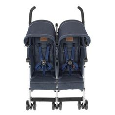 Maclaren Twin Triumph Stroller- Lightweight, Compact and Easy to maneuvers. Baby Doll Strollers, Best Baby Strollers, Double Strollers, Twin Babies, Twins, Twin Pram, Pink Prams, Best Prams, Best Lightweight Stroller