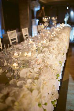 Bridal Table silk flowers   Decor info@elanakweddings.com.au