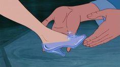Cinderella shoes.