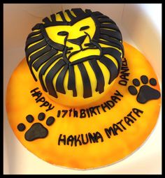 Lion king cake :)