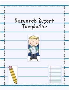 It's research time! Here are templates to help teach how to do a research report for elementary students. This packet includes the following items.* Picking a topic (whole group and individual)* What is a source* Fact collecting Cards* Bibliography * Topic and Conclusion Sentences* Rough Draft paper* Cover Sheet* Finial Draft paper