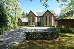 6 bedroom detached house for sale in Fabulous contemporary house in beautiful one acre garden on Leycester Road, Knutsford , WA16 Family House Plans, Best House Plans, Modern Mansion, Modern Homes, Floating Staircase, Indoor Swimming Pools, Dream House Exterior, New Home Designs, House Prices