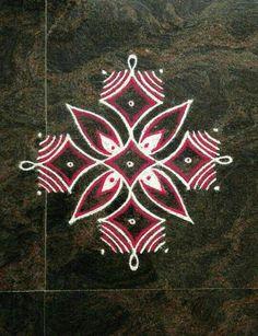 #weddingpreparationmorning Indian Rangoli Designs, Simple Rangoli Designs Images, Rangoli Designs Latest, Rangoli Designs Flower, Rangoli Border Designs, Small Rangoli Design, Rangoli Patterns, Colorful Rangoli Designs, Rangoli Ideas