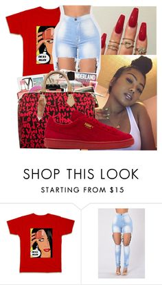 """🍨"" by badleaa ❤ liked on Polyvore featuring Puma"