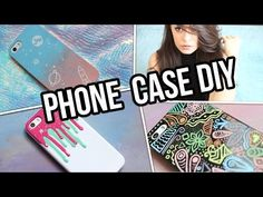 ★ DIY PHONE CASE ★ 3 simple cases [ENG subtitles] - YouTube