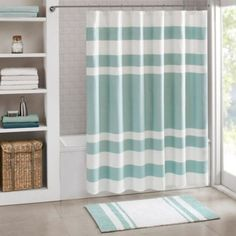 Madison Park Spa Waffle Shower Curtain - BedBathandBeyond.com - http://www.bedbathandbeyond.com/store/product/madison-park-spa-waffle-shower-curtain/3281994?categoryId=13475