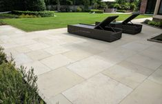 Yorkstone Paving by Bingley Stone. Prices and options for natural stones including Yorkstone limestone sandstone Bingley Stone make paving flags slabs steps Paving Flags, York Stone, Paving Design, Sandstone Paving, Paving Stones, Natural Stones, Patio, Garden, Outdoor Decor