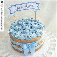 """""""{Inspiração - Naked Cake} #dicasandradesweetcakes #nakedcake #pb #joaopessoa #jampa #Repost @festejandoemcasaoficial with @repostapp ・・・ Que lindo! By…"""""""