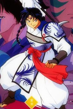Bankotsu is the leader of the Band of Seven that Naraku brought back to life using the shards of the Shikon jewel. Bankotsu wielded his demonic halberd Banryu to battle against Inuyasha within the caves of Mount Hakurei.
